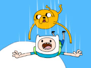 Adventure Time Jake And Finns Candy Dive