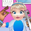 BABY ELSA EYE DOCTOR GAME