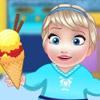 BABY ELSA ICE CREAM