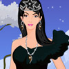 BLACK DRESS WINTER PRINCESS GAME