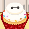 COOKING SWEET BAYMAX CUPCAKE
