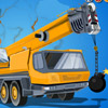 Demolition Crane Parking