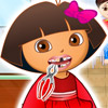 DORA PERFECT TEETH GAME