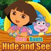 DORA AND BOOTS HIDE AND SEEK