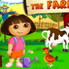 DORA AT THE FARM GAME
