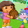 DORA EXPLORER THROW COCONUT