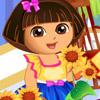 DORA LOVES FLOWERS GAME