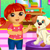 DORA PUPPY CARING GAME