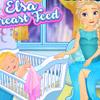 ELSA BREAST FEED GAME