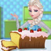 ELSA COOKING POUND CAKE GAME