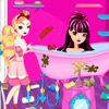 EVER AFTER HIGH BATHROOM CLEANING