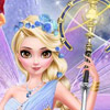 FROZEN ANGEL ELSA MAKEOVER