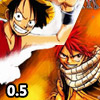 FAIRY TAIL VS ONE PIECE 0.5