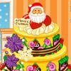 MERRY CHRISMTAS CAKE DECORATION
