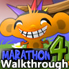 Monkey GO Happy Marathon 4 Walkthrough All Levels