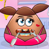 POU GIRL TOOTH PROBLEMS