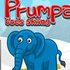 PRUMPA GOES SKIIING