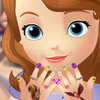 SOFIA THE FIRST MANICURE