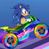 Sonic The Hedgehog Biker