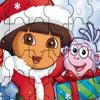 Dora Christmas Jigsaw Puzzle