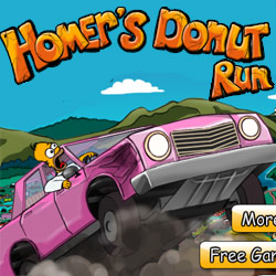 homers donuts run