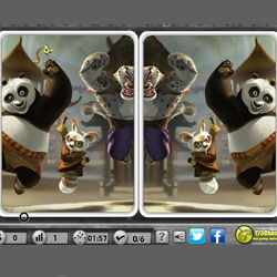 kung fu panda spot the difference